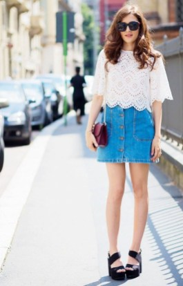 Fascinating Scalloped Clothing Ideas For Summer Outfits17