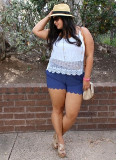 Fascinating Scalloped Clothing Ideas For Summer Outfits48