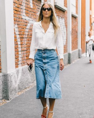 Incredible Skirt And Blouse This Fall Ideas06
