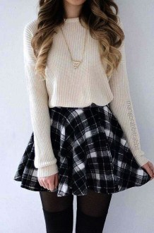 Incredible Skirt And Blouse This Fall Ideas13