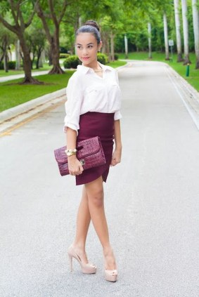 Incredible Skirt And Blouse This Fall Ideas15
