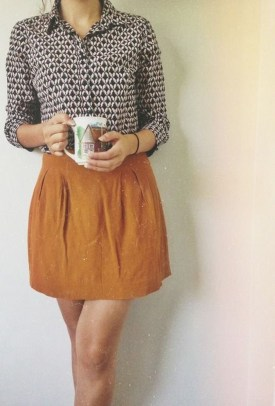 Incredible Skirt And Blouse This Fall Ideas26