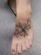 Lovely Foot Tattoo Ideas For Girls10