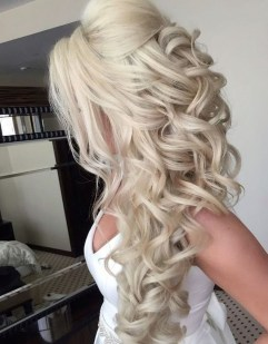 Perfect Wedding Hairstyles Ideas For Long Hair19