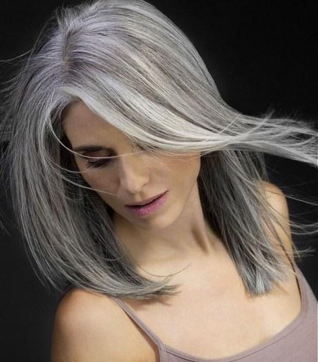 Pretty Grey Hairstyle Ideas For Women05