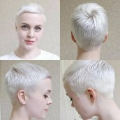 Pretty Grey Hairstyle Ideas For Women06
