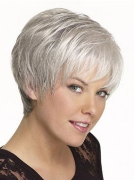 Pretty Grey Hairstyle Ideas For Women18