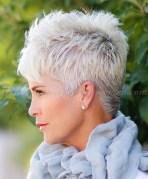 Pretty Grey Hairstyle Ideas For Women21