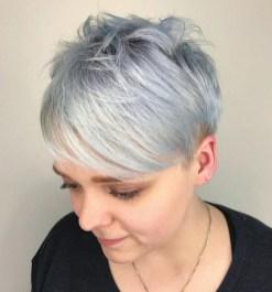 Pretty Grey Hairstyle Ideas For Women22