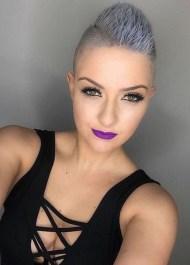 Pretty Grey Hairstyle Ideas For Women23