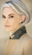 Pretty Grey Hairstyle Ideas For Women36