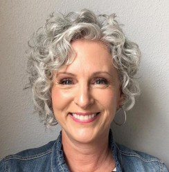 Pretty Grey Hairstyle Ideas For Women38