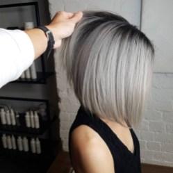 Pretty Grey Hairstyle Ideas For Women40