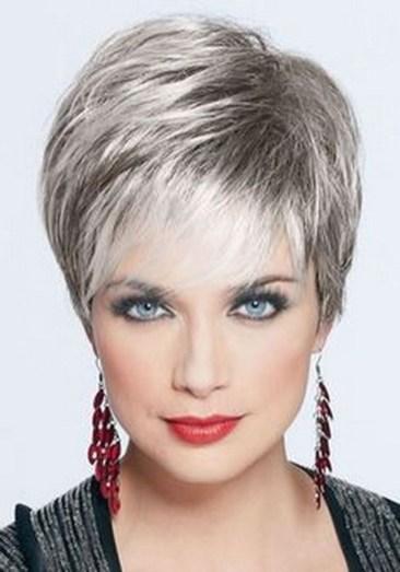 Pretty Grey Hairstyle Ideas For Women42