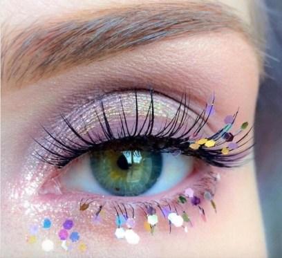 Stunning Shimmer Eye Makeup Ideas 201828