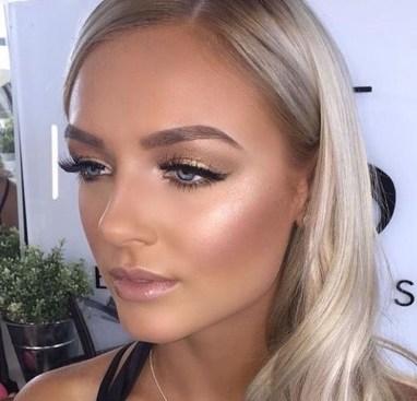 Stunning Shimmer Eye Makeup Ideas 201835