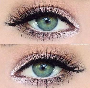 Stunning Shimmer Eye Makeup Ideas 201836
