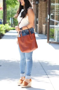 Stunning Spring Outfit Ideas With Wedges13