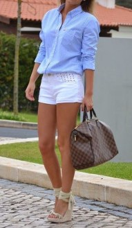 Stunning Spring Outfit Ideas With Wedges20