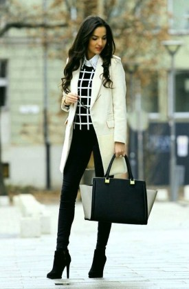 Stylish Winter Outfits Ideas Work 201825