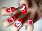 Astonishing Christmas Nail Design Ideas For Pretty Women06