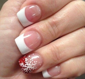 Astonishing Christmas Nail Design Ideas For Pretty Women48