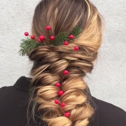 Awesome Hairstyles Christmas Party Ideas14