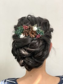 Casual Christmas Updos Ideas06