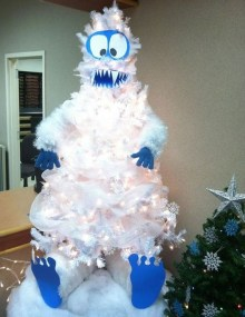 Casual Winter Themed Christmas Decorations Ideas14