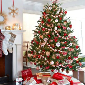 Casual Winter Themed Christmas Decorations Ideas21