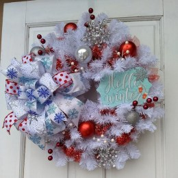 Casual Winter Themed Christmas Decorations Ideas32