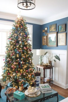 Casual Winter Themed Christmas Decorations Ideas36