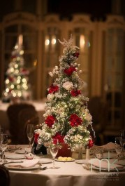 Classy Winter Wonderland Wedding Centerpieces Ideas10