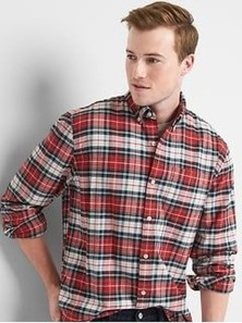 Cozy Plaid Shirt Outfit Christmas Ideas For Handsome Mens05