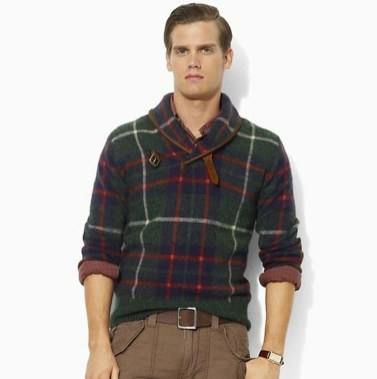 Cozy Plaid Shirt Outfit Christmas Ideas For Handsome Mens35