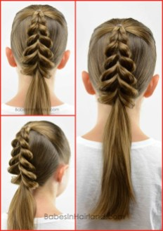 Cute Christmas Braided Hairstyles Ideas17