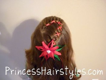 Cute Christmas Braided Hairstyles Ideas32