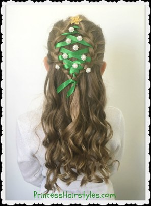 Cute Christmas Braided Hairstyles Ideas33