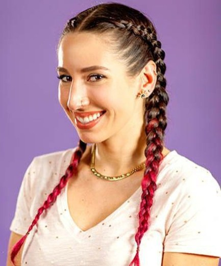 Cute Christmas Braided Hairstyles Ideas44