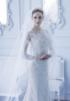 Fabulous Winter Wonderland Wedding Dresses Ideas01