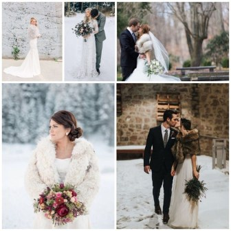 Fabulous Winter Wonderland Wedding Dresses Ideas16