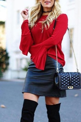 Incredible Holiday Style Christmas Outfit Ideas15