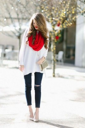 Incredible Holiday Style Christmas Outfit Ideas26