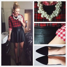 Incredible Holiday Style Christmas Outfit Ideas41