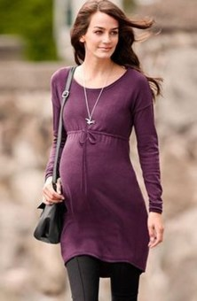 Lovely Maternity Winter Outfits Ideas28