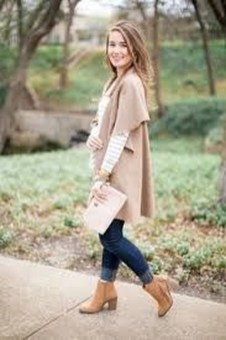 Lovely Maternity Winter Outfits Ideas29