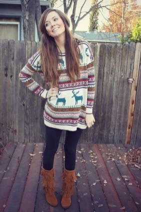 Outstanding Christmas Outfits Ideas26