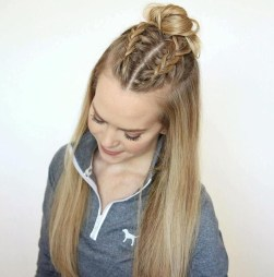 Popular Christmas Half Updos Ideas09