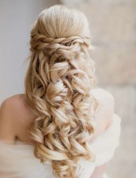 Popular Christmas Half Updos Ideas11