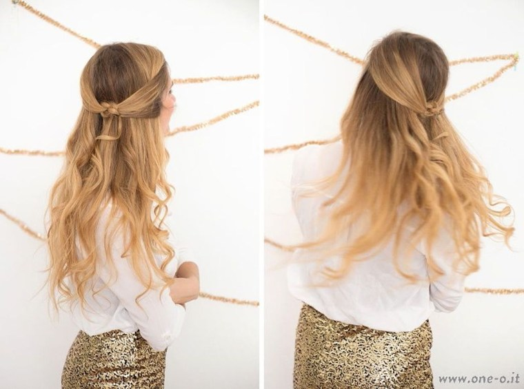Popular Christmas Half Updos Ideas14